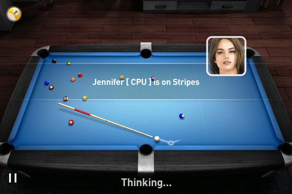 Screenshot Real Pool 3D